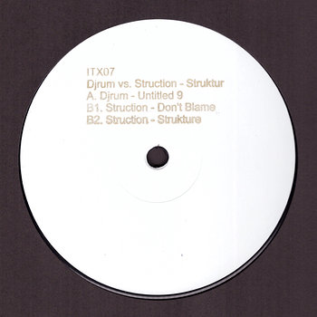 Cover art - Djrum vs. Struction: Struktur