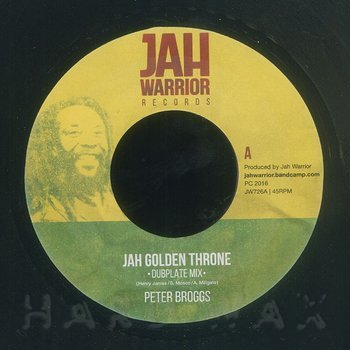 Cover art - Peter Broggs: Jah Golden Throne (Dubplate Mix)