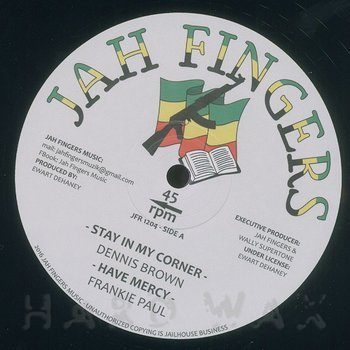 Cover art - Dennis Brown: Stay In My Corner