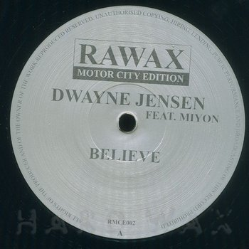 Cover art - Dwayne Jensen feat. Miyon: Believe