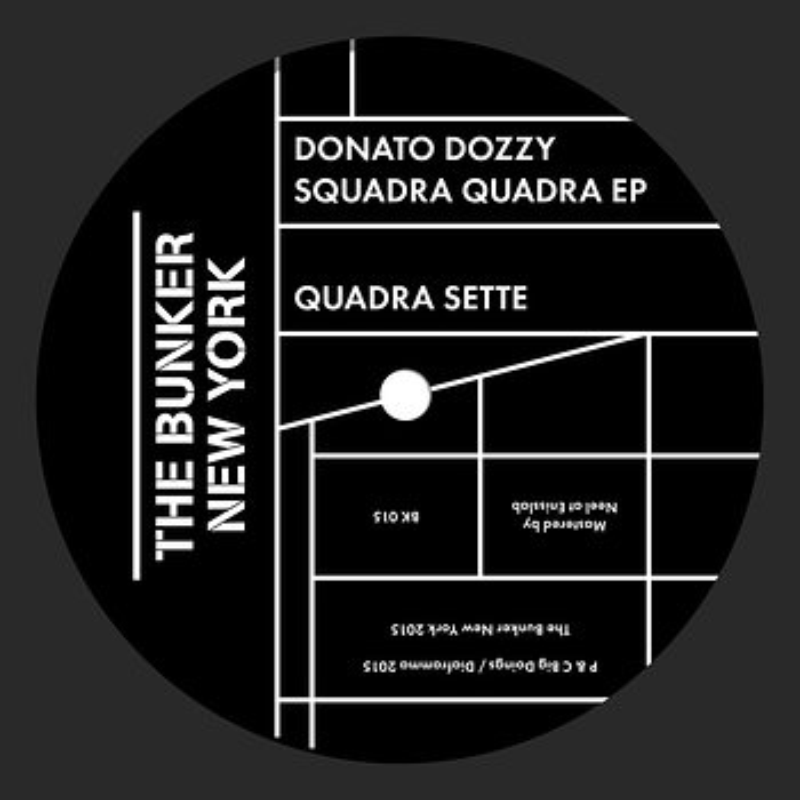 Cover art - Donato Dozzy: Squadra Quadra EP