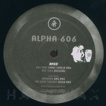 Cover art - Alpha 606: Alpha 606 RMXD