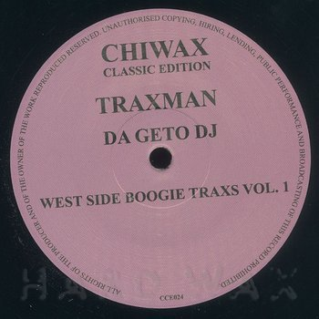 Cover art - Traxman: West Side Boogie Traxs Vol. 1