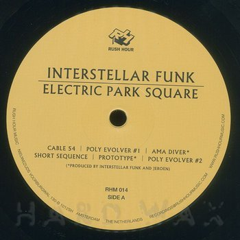 Cover art - Interstellar Funk: Electric Park Square