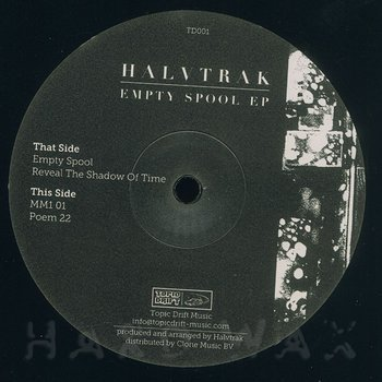 Cover art - Halvtrak: Empty Spool EP
