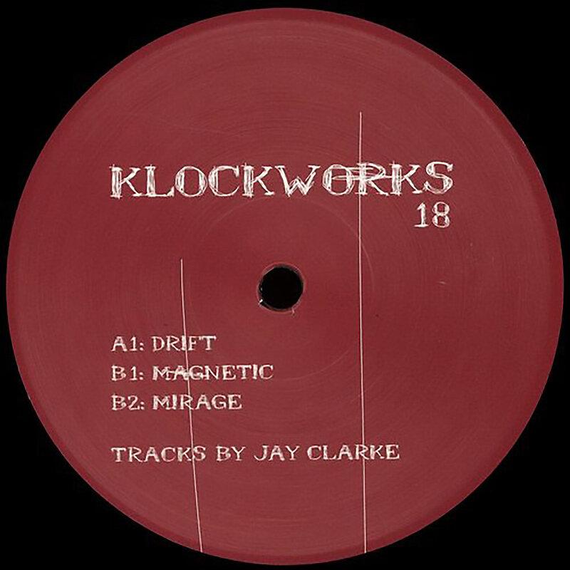 Cover art - Jay Clarke: Drift