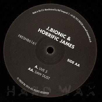 Cover art - J.Bionic & Horrific James: Live 5