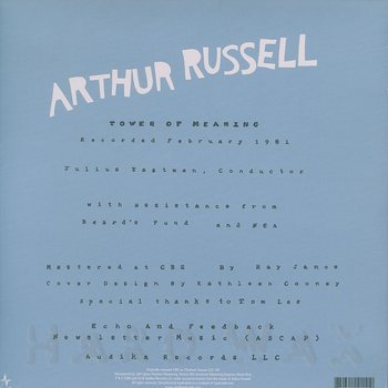 Cover art - Arthur Russell: Tower Of Meaning