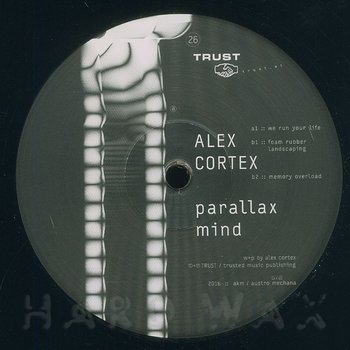 Cover art - Alex Cortex: Parallax Mind