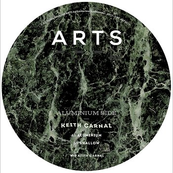 Cover art - Keith Carnal: Aluminium