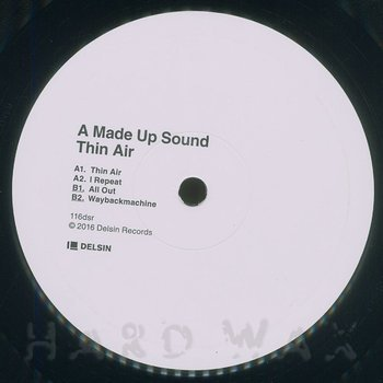 Cover art - A Made Up Sound: Thin Air