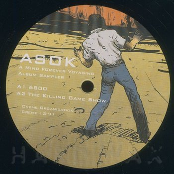 Cover art - Asok: A Mind Forever Voyaging - Album Sampler