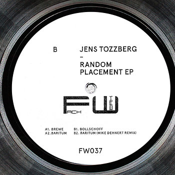 Cover art - Jens Tozzberg: Random Placement EP