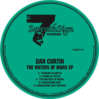 Cover art - Dan Curtin: The Waters Of Mars EP