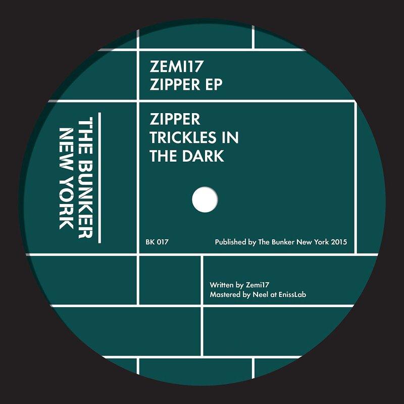 Cover art - Zemi17: Zipper EP