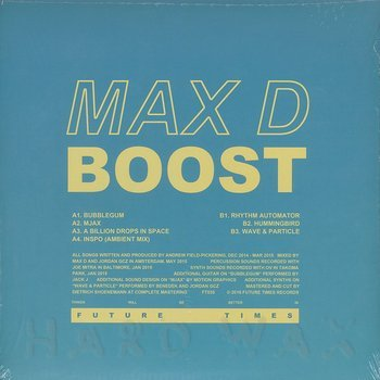 Cover art - Max D: Boost