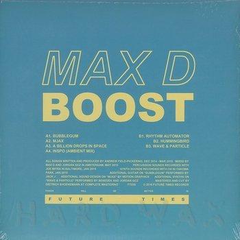 Cover art - Max D: Boost