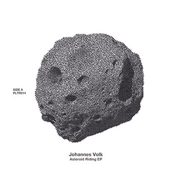 Cover art - Johannes Volk: Asteroid Riding EP