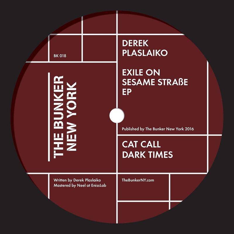 Cover art - Derek Plaslaiko: Exile On Sesame Straße