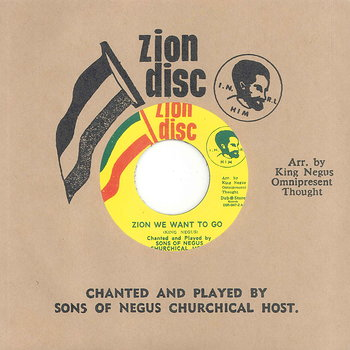 Cover art - Ras Michael & The Sons Of Negus: Zion We Want To Go
