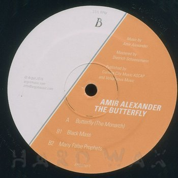 Cover art - Amir Alexander: The Butterfly