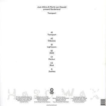 Cover art - Juan Atkins & Moritz von Oswald Present Borderland: Transport