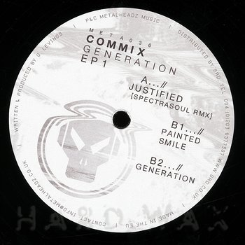 Cover art - Commix: Generation EP 1