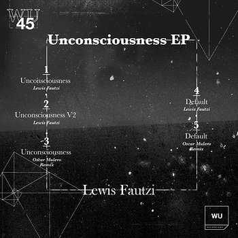 Cover art - Lewis Fautzi: Unconsciousness EP
