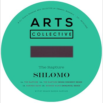 Cover art - Shlømo: The Rapture