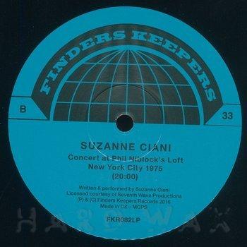 Cover art - Suzanne Ciani: Buchla Concerts 1975