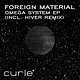 Cover art - Foreign Material: Omega System