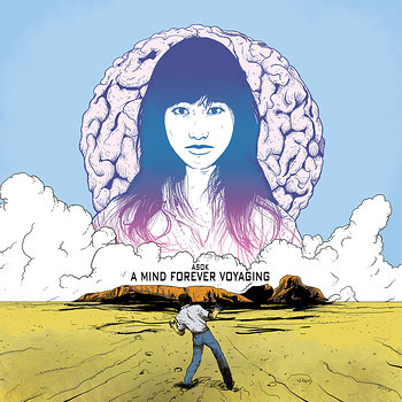 Cover art - Asok: A Mind Forever Voyaging