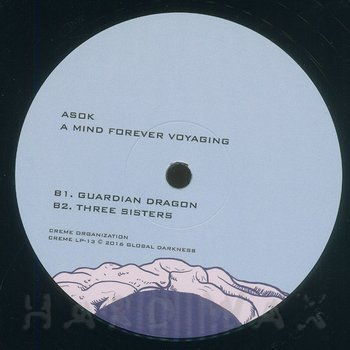 Cover art - Asok: A Mind Forever Voyaging
