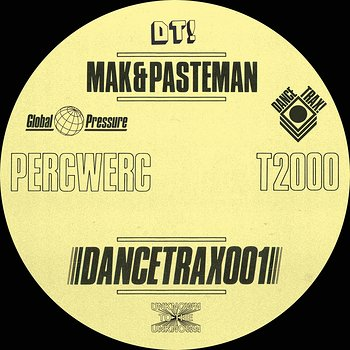 Cover art - Mak & Pasteman: Percwerc