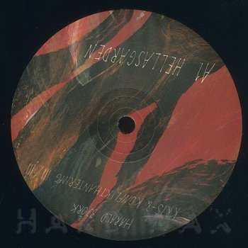 Cover art - Harald Björk: Hellasgarden