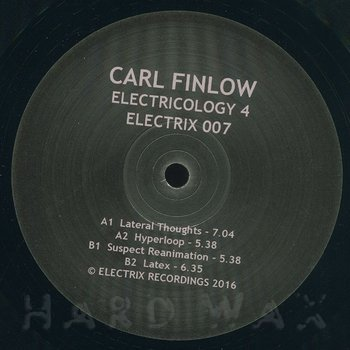 Cover art - Carl Finlow: Electricology 4