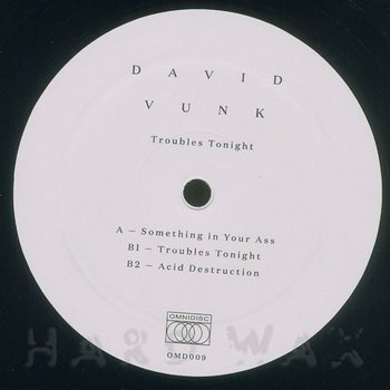 Cover art - David Vunk: Trouble Tonight