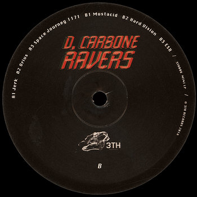 Cover art - D. Carbone: Ravers