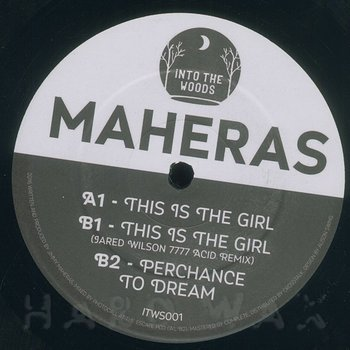 Cover art - Maheras: This Is The Girl