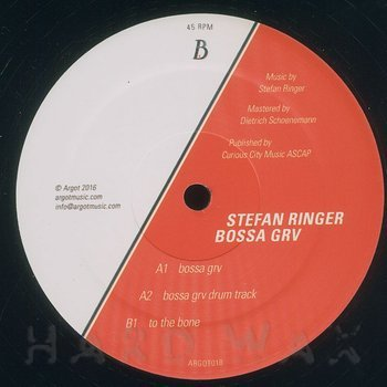 Cover art - Stefan Ringer: Bossa Grv