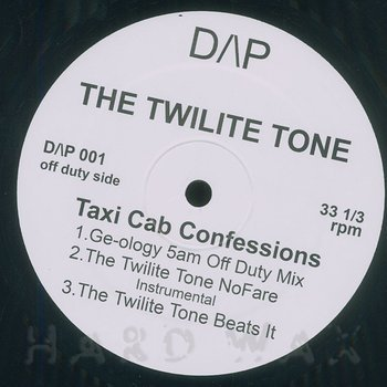Cover art - The Twilite Tone: Taxi Cab Confessions