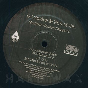Cover art - DJ Spider & Phil Moffa: Madison Square Dungeon