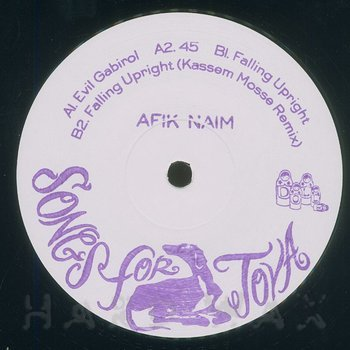Cover art - Afik Naim: Songs For Tova