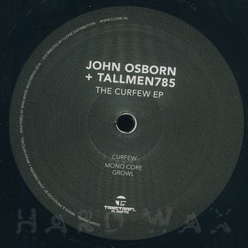 Cover art - John Osborn & Tallmen 785: The Curfew EP