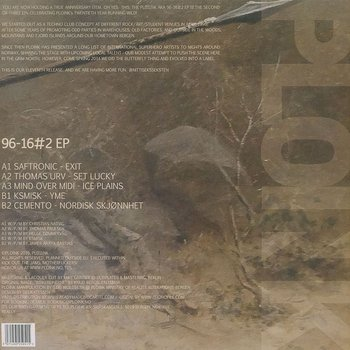 Cover art - Various Artists: 96-16#2 EP