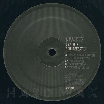 Cover art - Kwartz: Death Is Not Defeat
