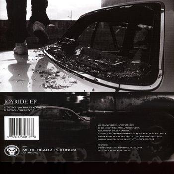 Cover art - Detboi: Joyride EP