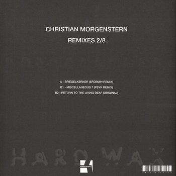 Cover art - Christian Morgenstern: Remixes 2/8