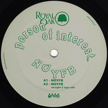 Cover art - Person Of Interest: NOYFB