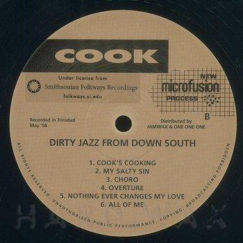 Cover art - Various Artists: Dirty Jazz From Down South